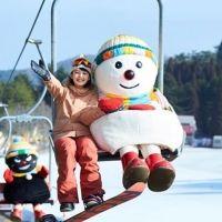 寒い季節もアクティブに! 六甲山で初滑り!