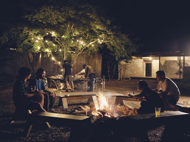 保養所をリノベした、 冬でも楽しめるキャンプ場「LOOF TINY HOUSE CAMP」