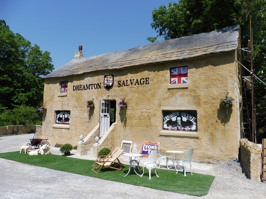 イギリスの伝統的な田舎町を再現「ドゥリムトンヴィレッジ」