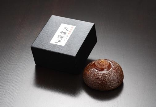 1年に一度しか作られない伝統銘菓「丸柚餅子」