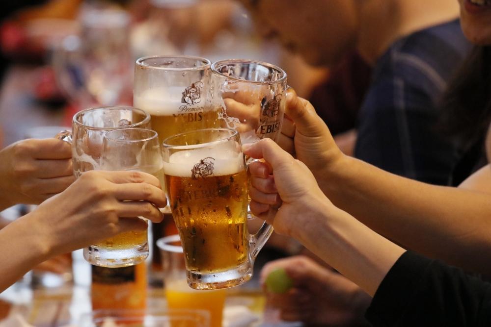 日本発のビヤホールへ、美味しいビールを飲みに!