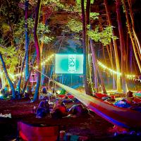 山梨県へシネマな旅♪話題の「夜空と交差する森の映画祭」開催決定!