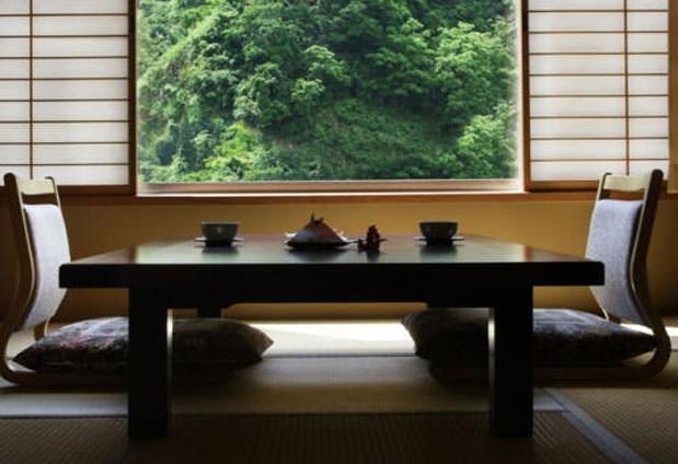 美景を愛でる客室