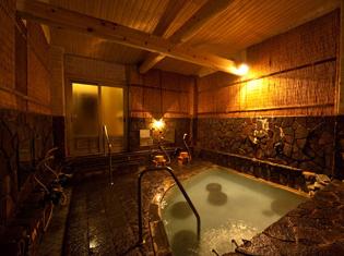 野沢温泉「湯宿 寿命延」の魅力①自然湧出源泉かけ流しの温泉