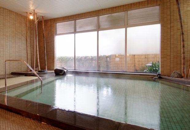 2つの源泉を持つ純和風旅館で2種類の温泉を楽しもう