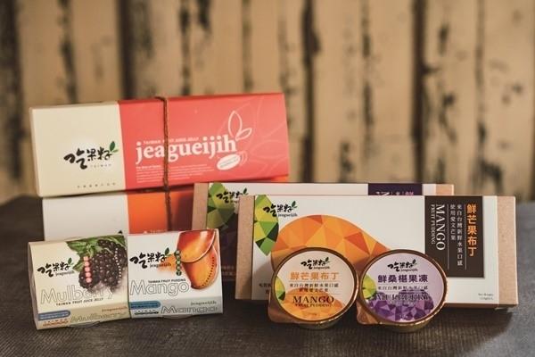 プリンゼリーは、果汁含有量ごとにシリーズ化。