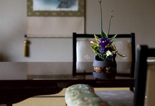 旅館の寛ぎを感じる客室
