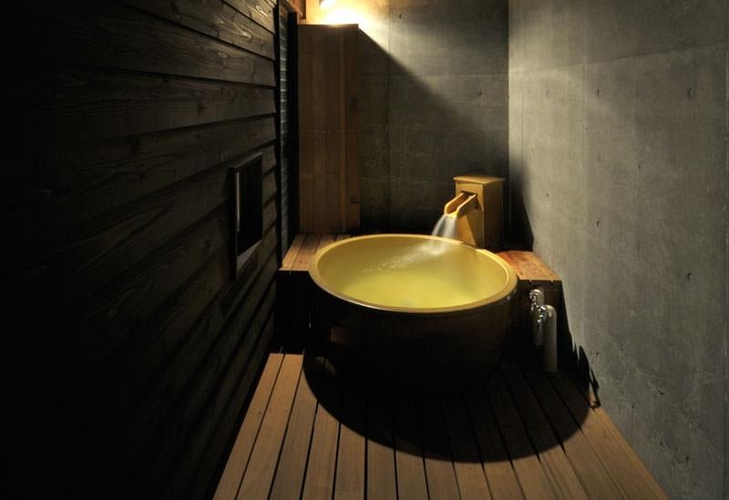 全棟に専用露天風呂付き