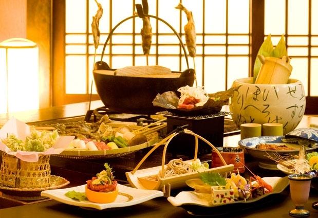長野県「囲炉裏とくつろぎの宿 ホテルやまぶき」