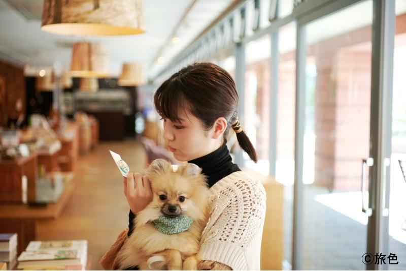 浜辺美波さんが高原リゾートで愛犬とおさんぽ旅【月刊旅色2021年9月号】その3