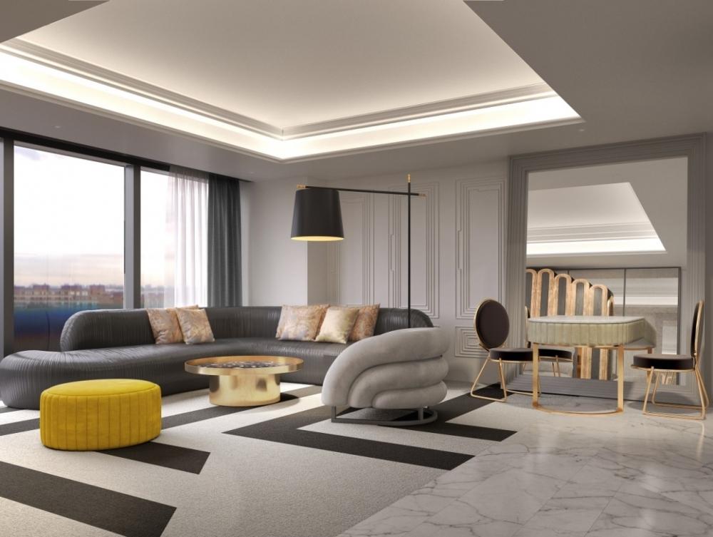 世界トップレベルのハイセンスな空間。ラグジュアリーな客室は全室ハーバービュースイート