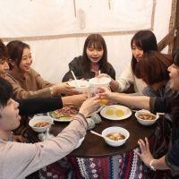 武蔵境駅前でグランピング⁈ 芋煮会で温まって交流を深めよう