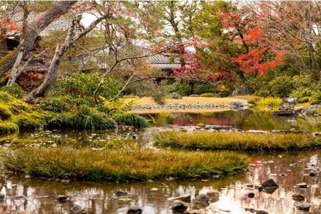 琵琶湖疏水が流れる美しい日本庭園を有する宿