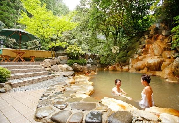 絶景自慢の露天風呂