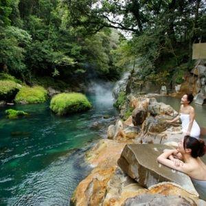 絶景の渓谷美に出合う旅。豊かな自然に囲まれた露天風呂でリフレッシュその0