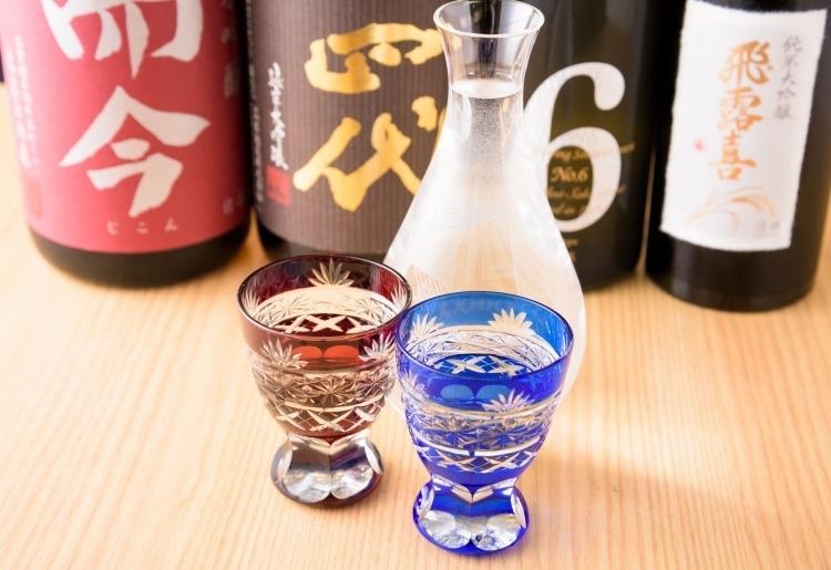 店主が吟味した日本酒