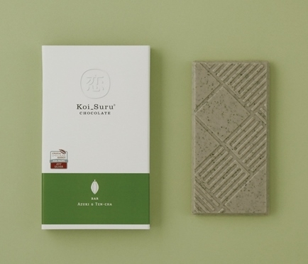 小豆と碾茶(てんちゃ)