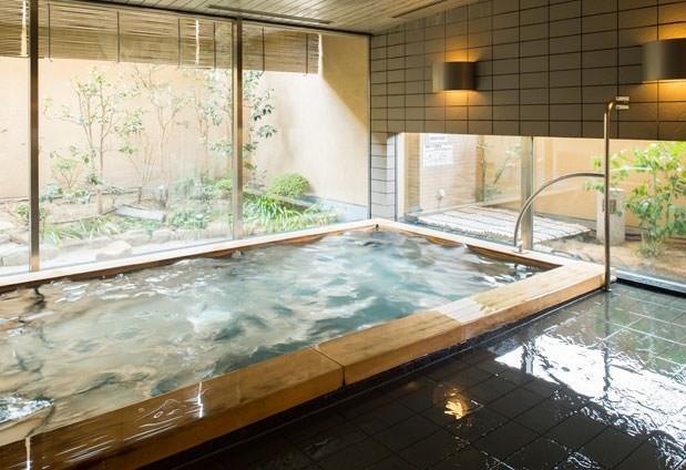 岡山県にある「三井ガーデンホテル岡山」の魅力③ガーデン浴場