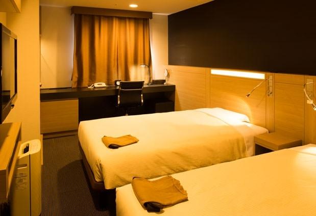 岡山県にある「三井ガーデンホテル岡山」の魅力④スタイリッシュで清潔感ある客室
