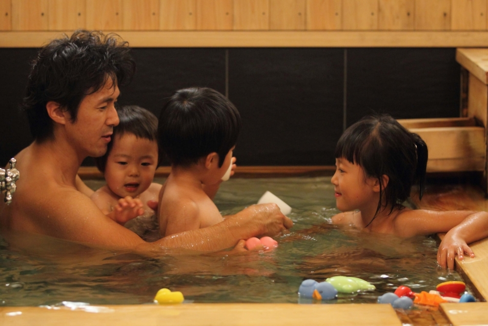 家族みんなでザブーン!貸切風呂はなんと0円