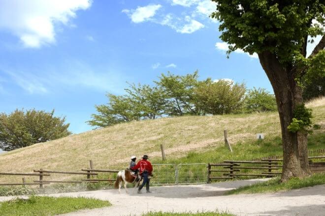 馬&ポニーに揺られて伊香保の自然に触れる