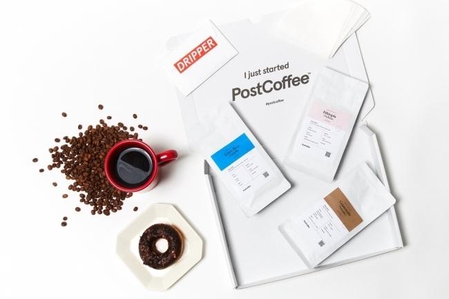 ポストに届くコーヒー「PostCoffee」