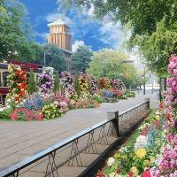 フラワーアンバサダーには女優の波瑠さんが就任!第33回全国都市緑化よこはまフェア開催中