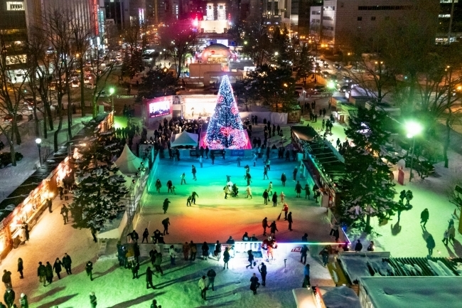 「さっぽろ雪まつり」にスケートリンクが今年も登場!