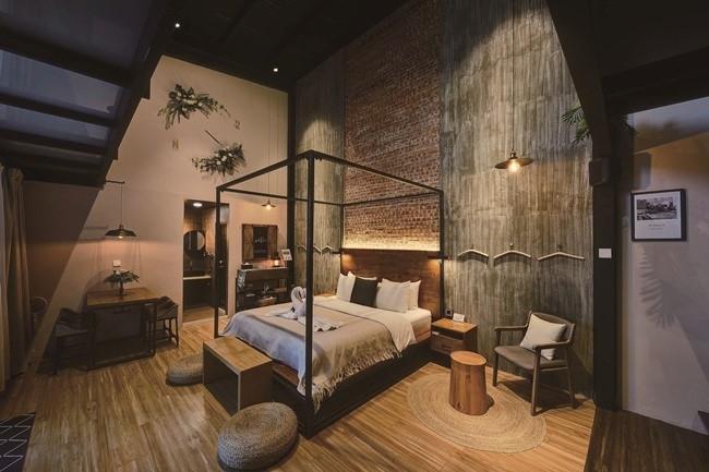 ファミリーやグループでの滞在なら2ベッドのDeluxe Garden Loftへ。