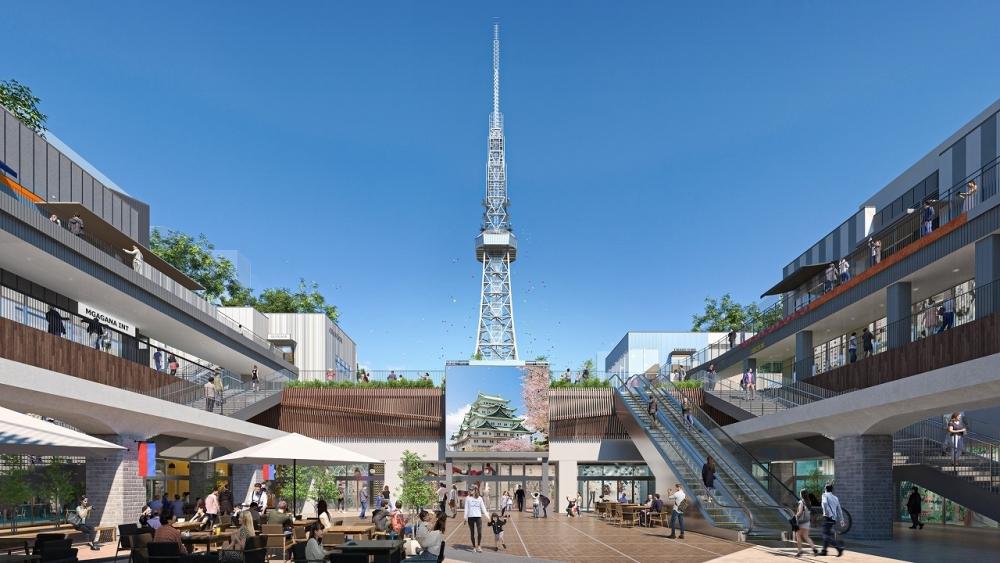 名古屋の中心地に誕生する新たなスポット