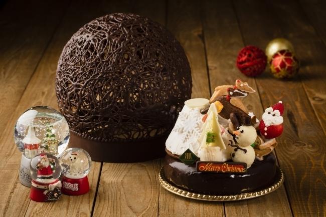 見た目にもこだわったクリスマスケーキがズラリ「リーガロイヤルホテル京都」