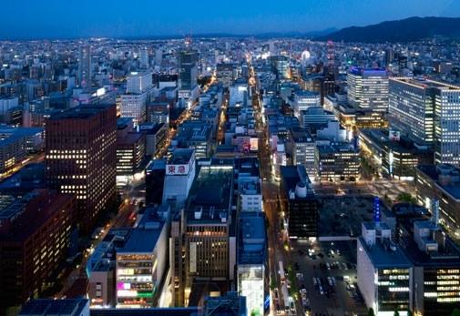 北海道・札幌で行くべきおすすめスポット④夜景を楽しむならここ