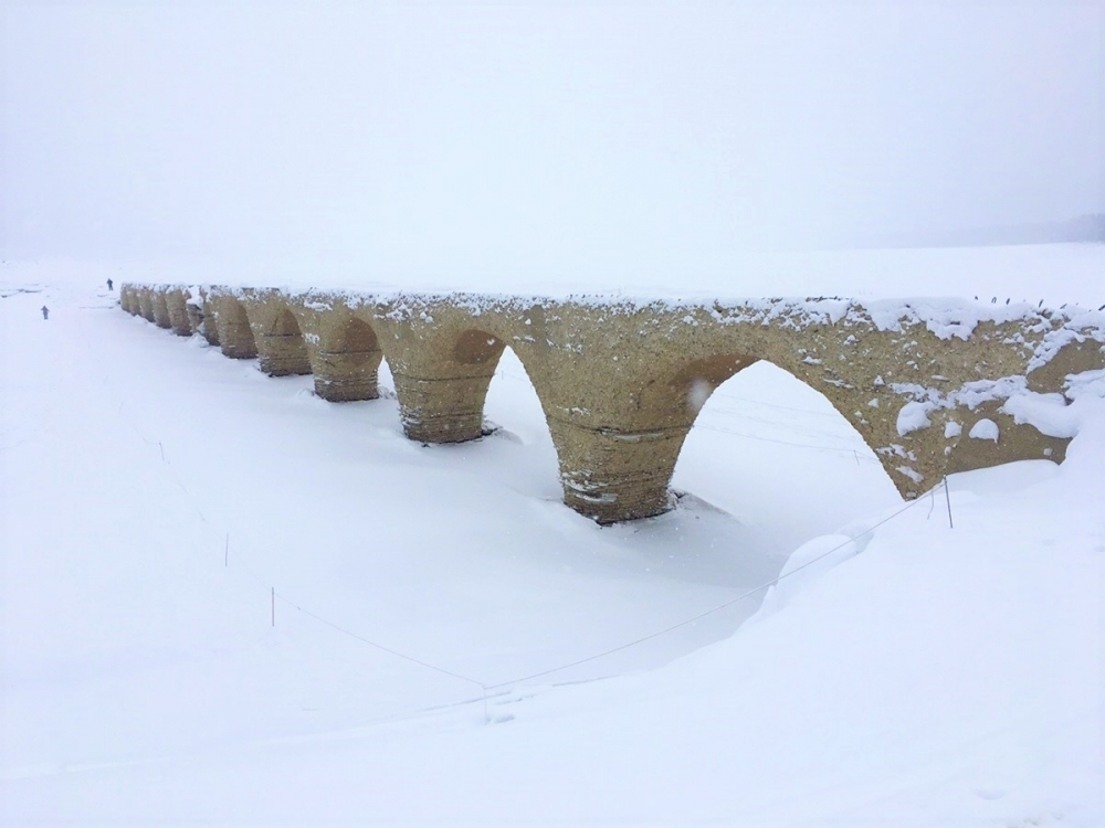 2日目:「タウシュベツ川橋梁」を観光