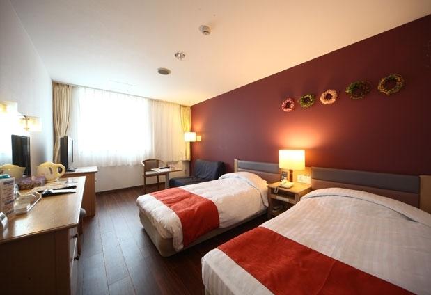 スタイルに合わせた客室と寛ぎのコンセプトフロア