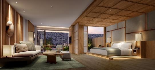 景色や温泉を楽しめる客室と充実の館内施設