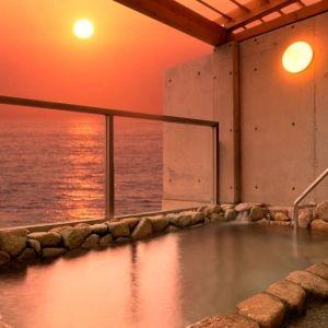 絶景広がるオーシャンビューの露天風呂!「ザ・ホテルシーポート」