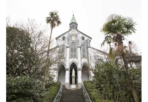 世界遺産登録を目指す「長崎の天草地方の潜伏キリシタン関連遺産」のひとつ「大浦天主堂」