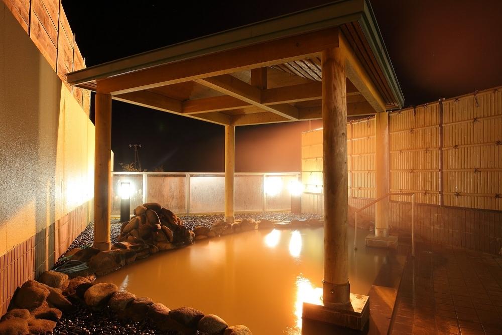 岩内湾&積丹半島を眺めながら湯浴み