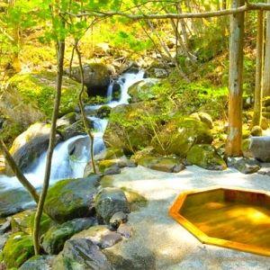 貸切露天風呂もある♪福島県「辰巳屋山荘 里の湯」で贅を尽くした休日