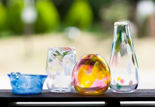 おすすめのクラフト体験①吹きガラス体験