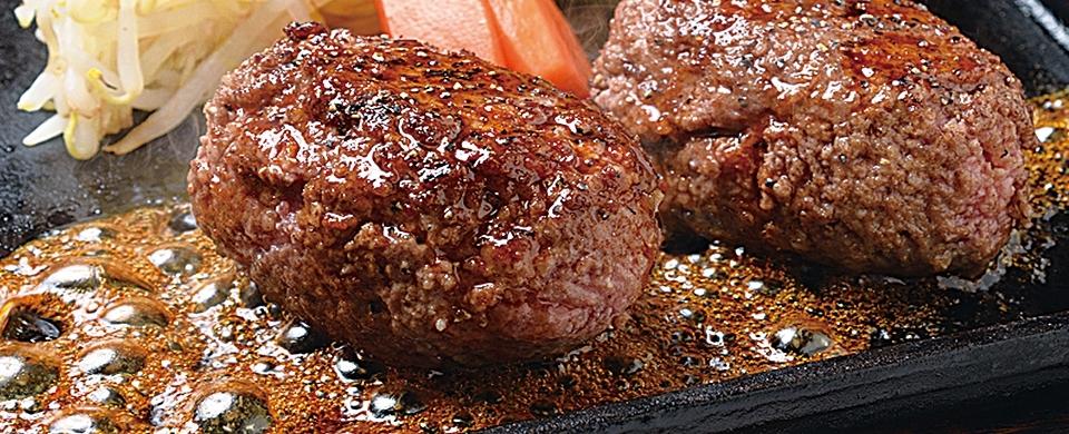富山で愛され続ける銘柄和牛100%のほわほわハンバーグが絶品