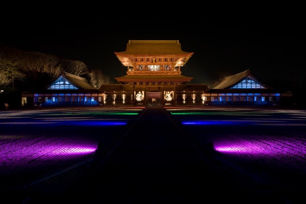 国宝、瑞龍寺を彩る春のライトアップも見逃せない!