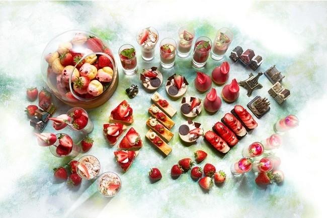 スイーツビュッフェ「Strawberry Adventure」@インターコンチネンタルホテル大阪(大阪府)