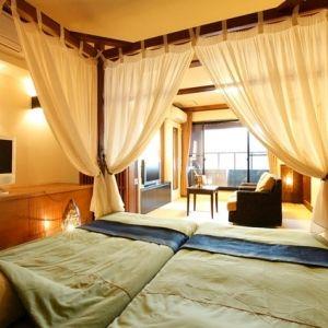 貸切風呂が魅力。バラエティ豊かな客室が揃う「赤尾ホテル 海諷廊」