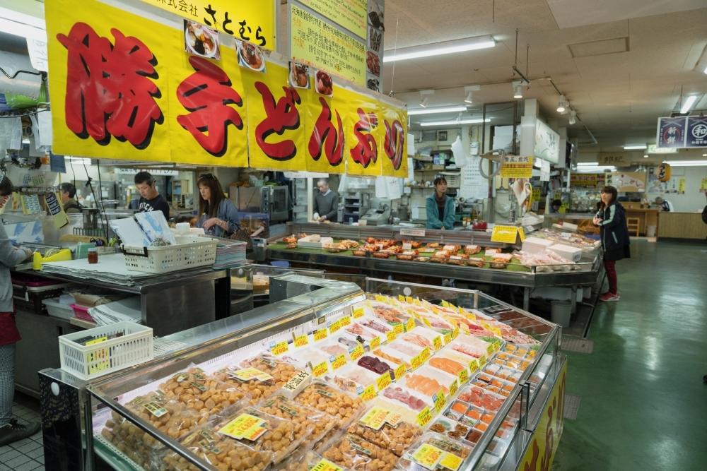 港町ならではの新鮮な魚介は「和商市場」で食べるのがイチバン!