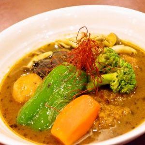 北海道・新千歳空港内の穴場「カレーハウス キタカレー」でスープカレーを