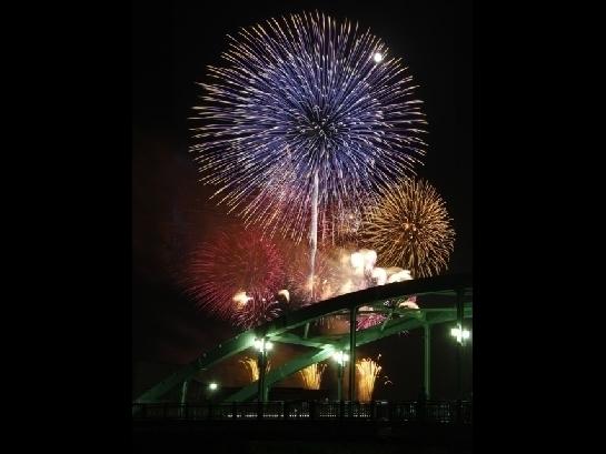 2017いなしき夏まつり花火大会