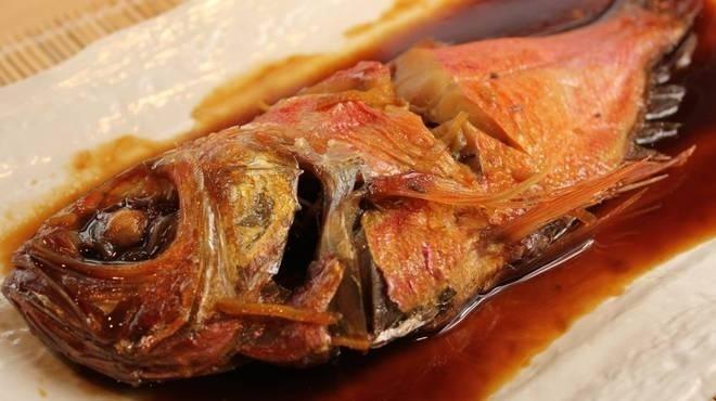 人気漁港メシ③金目鯛の煮付定食