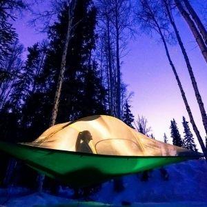 日本初!空中テント泊のみの施設が登場 アクティビティ体験も用意