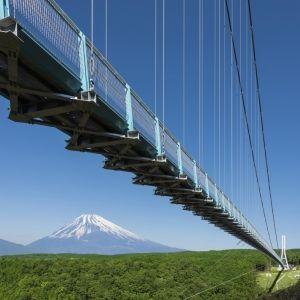 日本一の吊り橋に「富士ビュー・シーズン」到来!春は箱根・三島の旅へ